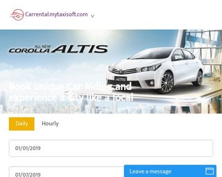 MyTaxiSoft – Car Rental Script