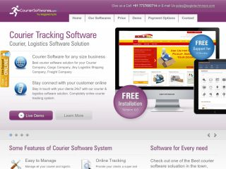 Courier or Cargo Software Script For Sale (Cloud Based )