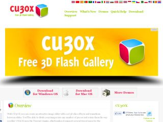 CU3OX 3D Flash Slideshow