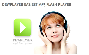 Dewplayer – Easiest mp3 flash player