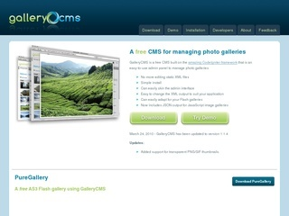 GalleryCMS – Photo Galleries CMS