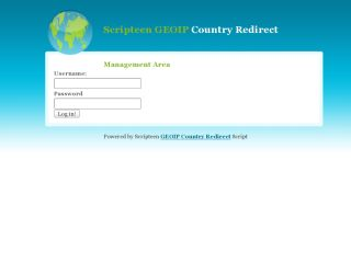 GeoIP Country Redirect Script