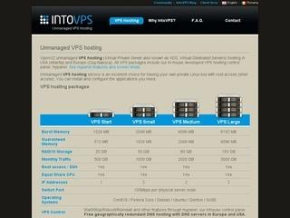 IntoVPS – Unmanaged VPS hosting