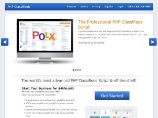 Professional PHP Classifieds Script