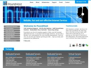PoundHost – Dedicated Servers