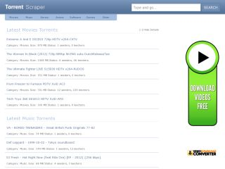 Scripteen Torrent Search Engine Script