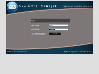 XYZ Email Manager
