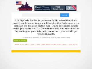 PHP USA ZipCode Locater with Google Maps v1.0